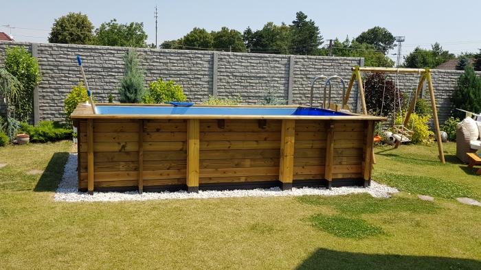 drevené bazény realizácia