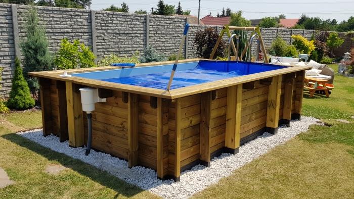 drevene bazény