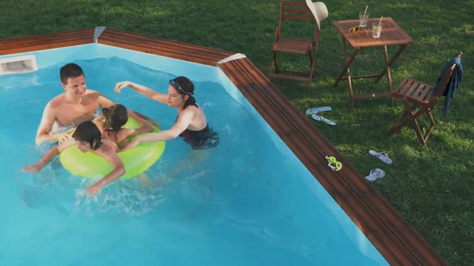 drevené bazény