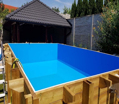 Drevený bazén Summer Oasis fólia