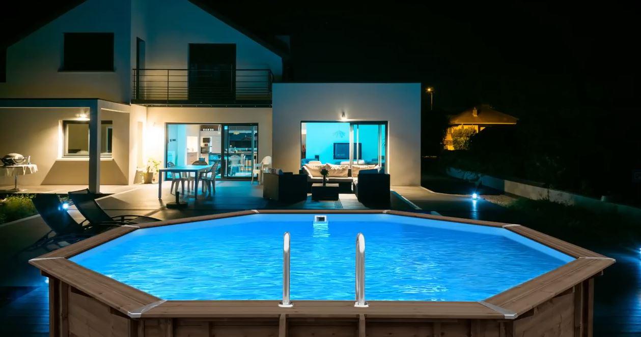 Drevený bazén