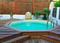 Drevený bazén Wood-line atoll