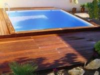 Drevený bazén Wood-line bahia