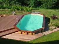 Drevený bazén Wood-line longhi